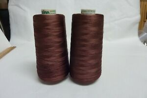 madeira embroidery thread classic #40 RAYON Thread in BROWN RED 1358 $12.00