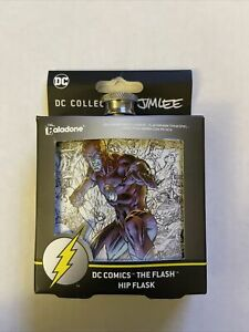 New The Flash Hip Flask 6 oz DC Collection by Jim Lee Paladone New DC Comics