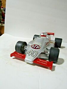 RARE Ezra Brooks #40 Silver Indy 500 STP Race Car Decanter #18 of Only 50 Made