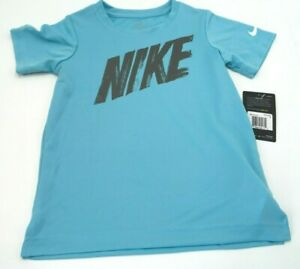 Nike Dry Fit T Shirts Blue for 6 7 Years Kids $19.99