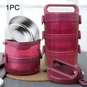 Lunch Box Stainless Steel Sealed Multi Layer Food Bento Large Capacity Insulated