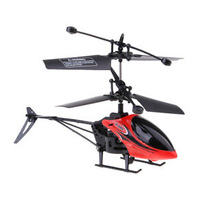 2 Channel 2.4Ghz RC Helicopter Drone Quadcopter Aircraft Flying Toy Gift