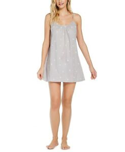 Jenni Cotton Chemise Nightgown TOSSED PALMTREE COLOR SIZE X SMALL $15.60