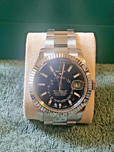 2019 Rolex Sky Dweller 326934. Black Dial. A Condition Private Seller.