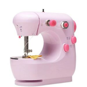 Household Tools Electric Multifunctional Red Small Sewing Machine For Beginners $26.99