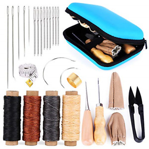 Leather Sewing Kit Leather Working Tools and Supplies Leather Working Kit with $16.47