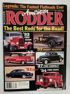 American Rodder Magazine April 1989 The best Rods For the road M350