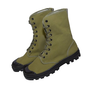 French Military Style Canvas Commando Boots $54.95