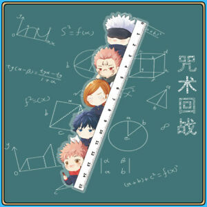 Anime Jujutsu Kaisen Cute Creative Ruler Students Stationery More Characters $11.99