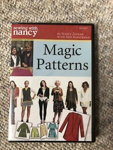 Sewing With Nancy Magic Patterns DVD 2 Episodes $13.50