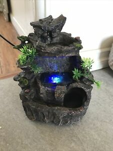 indoor waterfall fountain with lights $65.00