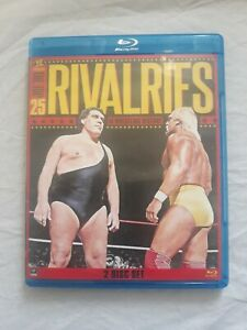 WWE: Top 25 Rivalries In Wrestling History Blu ray 2013 2 Disc