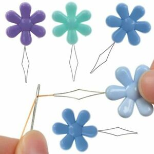 10x Easy Sewing Needle Device Threader Thread Garment Sewing Threader Guide Tool $4.26