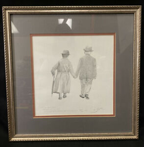 Robert Sexton quot;The Vowquot; Limited Edition Hand Signed Lithograph Framed $150.00