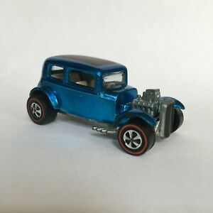 Hot Wheels Redline Classic 32 Ford Vicky Beautiful Blue US Base Real Nice $99.99