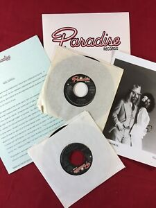 LEON RUSSELL MARY McCREARY PRESS KIT amp; PROMO 45s for the WEDDING ALBUM LP 1976