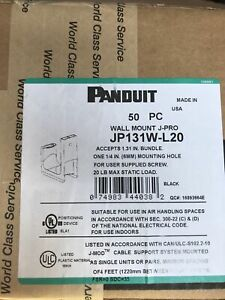 JP131 L20 J PRO Cable Support System for Wall Mount Pack of 50 $72.00