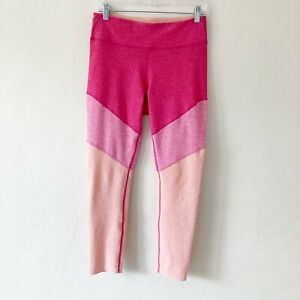 Outdoor Voices Size Large Springs 7 8 Leggings Tricolor Pink Peach $50.00