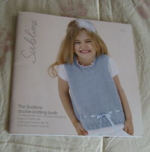 SUBLIME THE SUBLIME DOUBLE KNITTING BOOK 607 16 PATTERNS $2.50