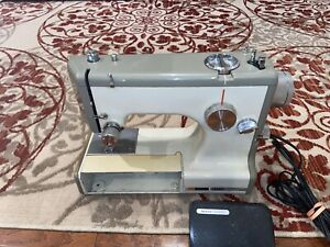 Vintage Sears Kenmore Portable Sewing Machine with Case $68.55