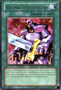 YuGiOh Nobleman of Extermination PSV 035 Rare Unlimited Edition Lightly Pl $1.05