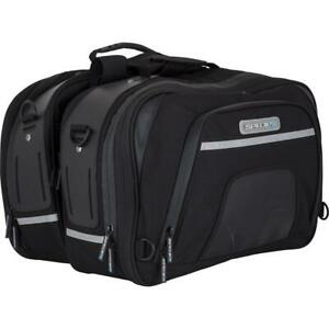 Spada Waterproof Touring Motorcycle Panniers Expandable Ripstop 19L 27L Black GBP 124.99