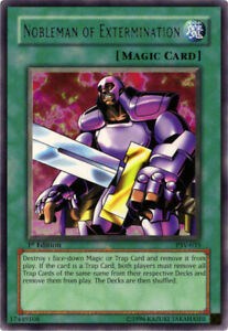 YuGiOh Nobleman of Extermination PSV 035 Rare 1st Edition Lightly Played $1.20