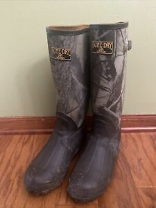 Redhead Bone Dry rubber hunting boots 400 grams thinsulate size 7