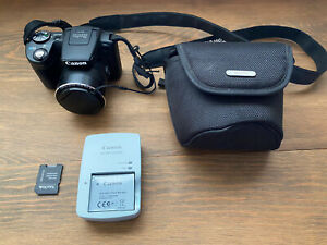 Canon PowerShot SX510 HS 12.1MP Digital Camera WIFI Case TESTED amp; WORKS WELL