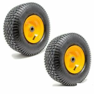 2PK 13x5.00 6 Turf Tire Rim Assembly for Lawn Garden Tractors Golf Carts 2 PLY $48.99