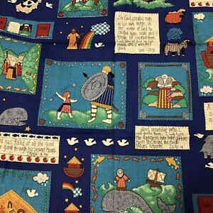 Psalm 118:24 This is the Day Lord Made Bible Verses COTTON SEWING QUILTING Fabrc $9.99