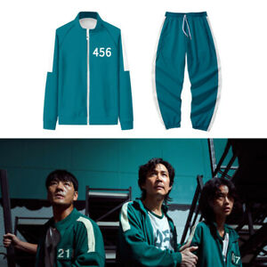 Squid Game Tracksuits 067 456 001 218 Tracksuit