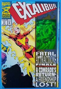 Excalibur #71 Marvel 1993 Hologram Cover Fatal Attractions Finale VF NM