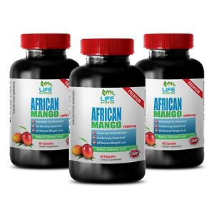 Metabolism Diet African Mango Extract 1200mg Acai Berry Capsules 3B $44.99
