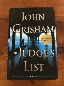 The Judge#x27;s List by John Grisham SIGNED FIRST EDITION $45.00