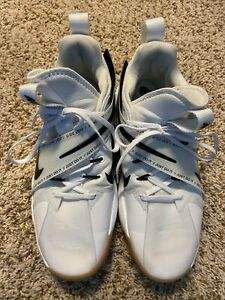 Nike React Hyperset Court Volleyball Womens Shoes White Gum CI2956 100 Size 13 $58.00