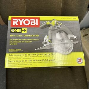 BRAND NEW RYOBI P507 18 Volt ONE Cordless 6 1 2 in. Circular Saw Tool Only $42.00