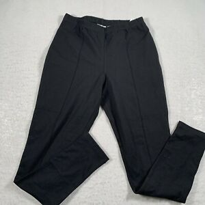 Women With Control Leggings Stretch Lightweight Black Size Small S