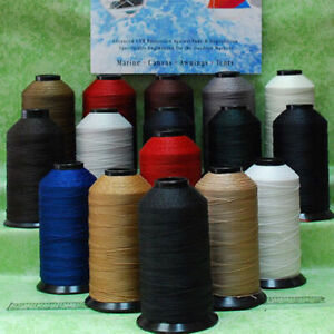 Bonded Nylon SEWING Thread #69 T70 for Upholstery leather outdoor canvas beading $9.50