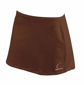 Women Brown Tennis Skirt WITHOUT Compression Shorts XS S M L XL Athletic