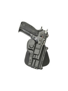 CZ75 Fobus Right Polymer Black Paddle Holster For CZ 75 75BD 85 75D Compact 9mm