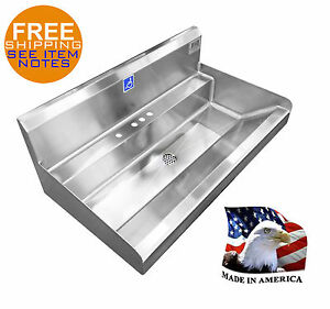 ADA SINGLE USER HAND SINK 36