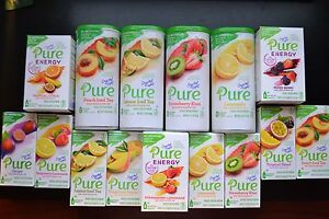 Crystal Light Pure & Crystal Light Pure Energy        NEW Flavors to Choose From