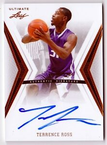 Terrence Ross 2012 Leaf Ultimate Basketball On Card AUTOGRAPH auto $24.99