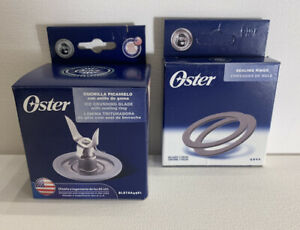 Oster Blender Blade amp; Ring with Sealing Ring Gasket Pack All Original Parts NEW