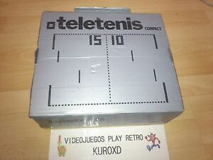 compact teletenis tele tenis made in spain