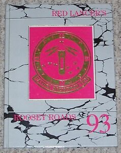 1993 US Navy Patrol Squadron Ten VP-10 cruise book yearbook Red Lancers