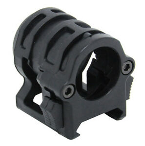 AIRSOFT AF CORE OPS BLACK RAIL 20MM SMALL HELMET TORCH MOUNT UK