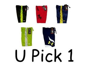 Under Armour Shorts Boys Athletic Sports Active Wear Toddlers UA $13.50