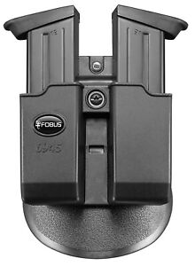Fobus Paddle Double Mag Pouch for H&K USP Full size, H&K P8 45 cal Double Stack